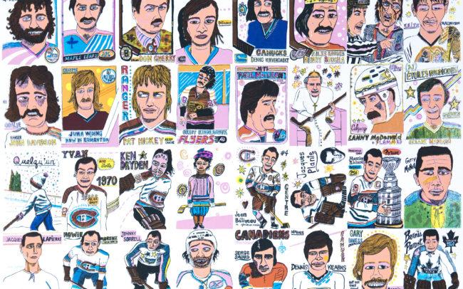 Les légendes du hockey