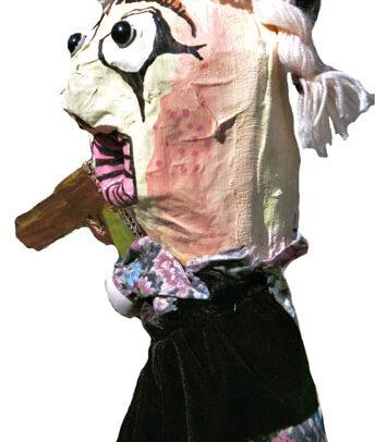 Titine (marionnette pour la pièce