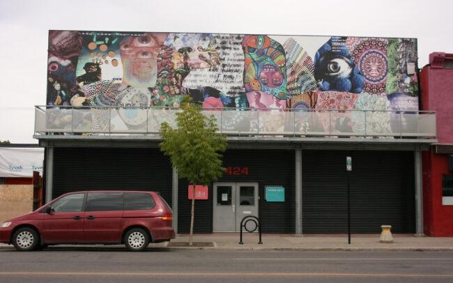 Photomontage à la galerie AKA (2011)