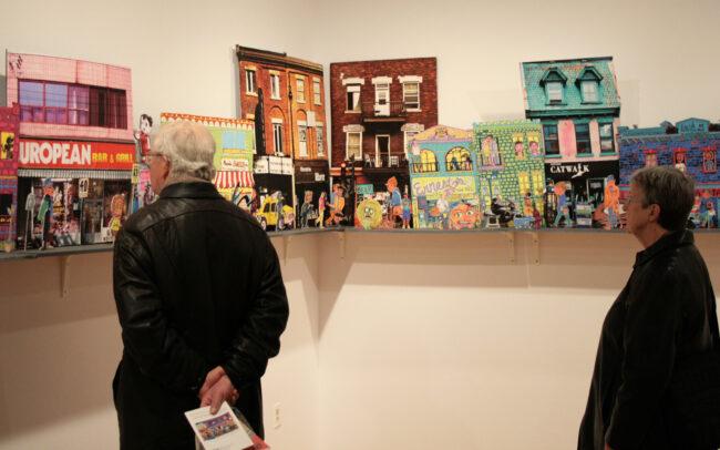 Micropolis 2.0 à la galerie Open Studio (Toronto)