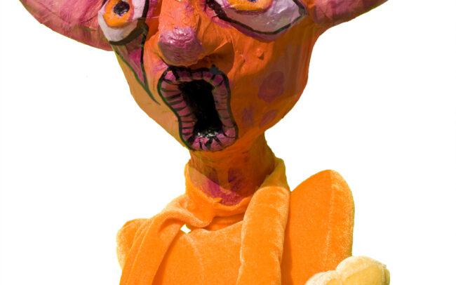 Monstre (marionnette de la pièce