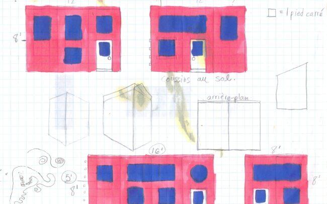 Plan du décor de la pièce