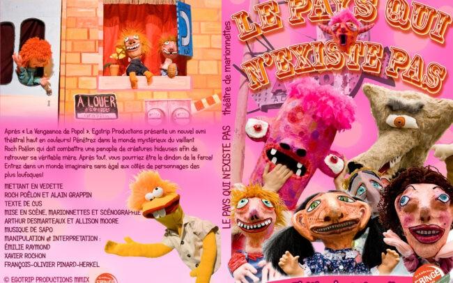 Couverture du DVD documentant la pièce