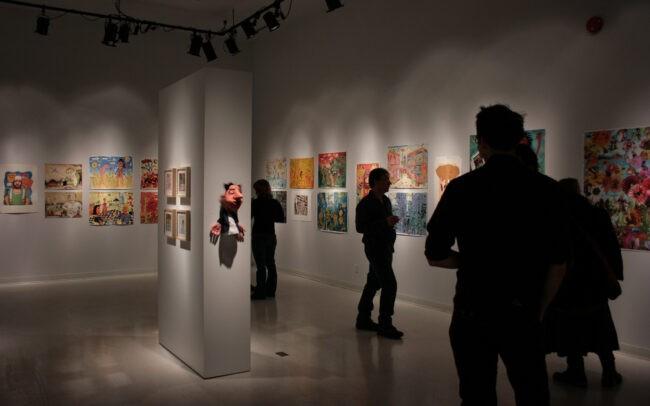 Exposition à la Salle Augustin Chénier (Ville-Marie, Temiscamingue)